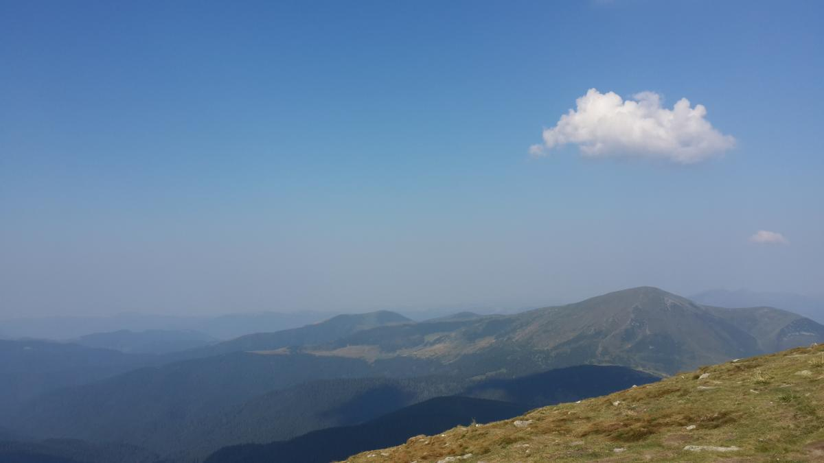 Види з вершини Говерли