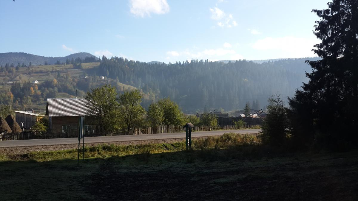 Ворохта впритул прилягає до Карпатського національного природного парку