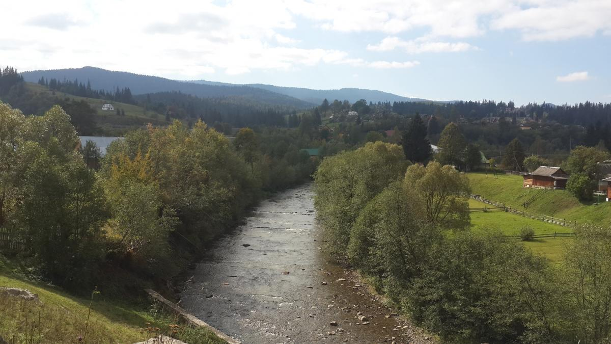 Ворохта на річці Прут