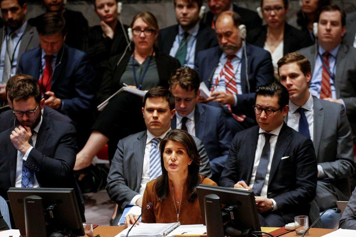 США посоветовали утвердить вСБ ООН новый механизм расследования химатак вСирии