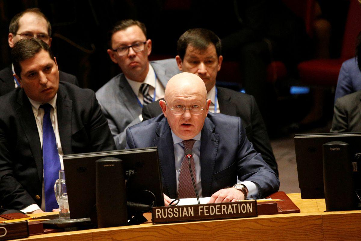 """Василь Небензя визнав, що війна на Донбасі - це не """"внутрішній конфлікт"""" / REUTERS"""