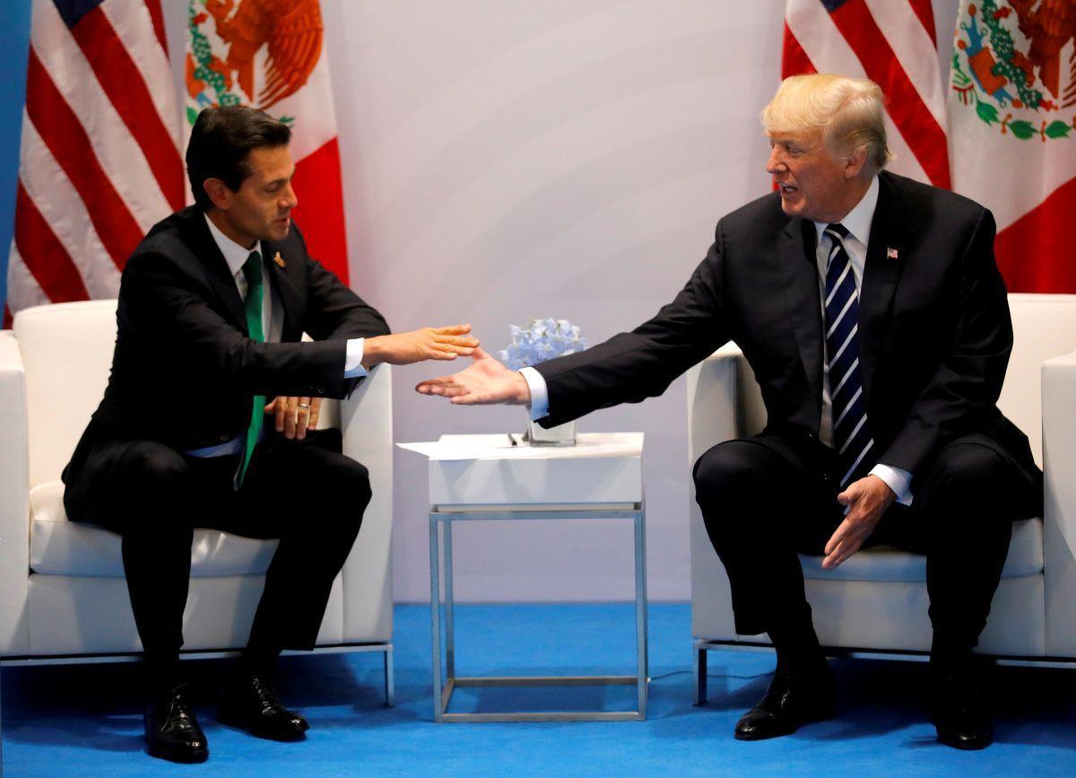 Энрико Пенья Ньето и Дональд Трамп / REUTERS