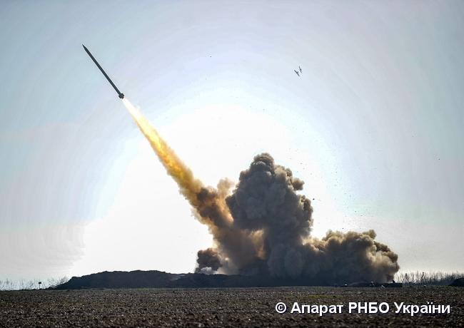 На юге Одесской области прошли государственные испытания ракетного комплекса «Ольха» / фото rnbo.gov.ua