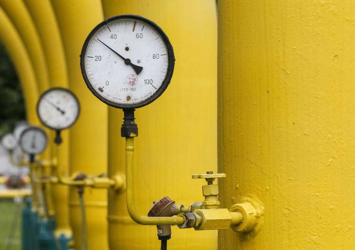 Украина продолжает обновлять рекорды по запасам газа в хранилищах /REUTERS