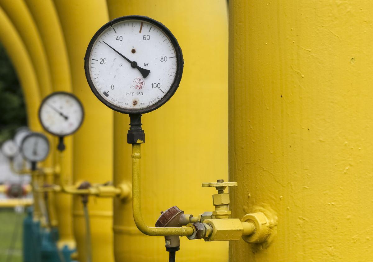 В украинских хранилищах осталось меньше 22 миллиардов кубометров газа /REUTERS