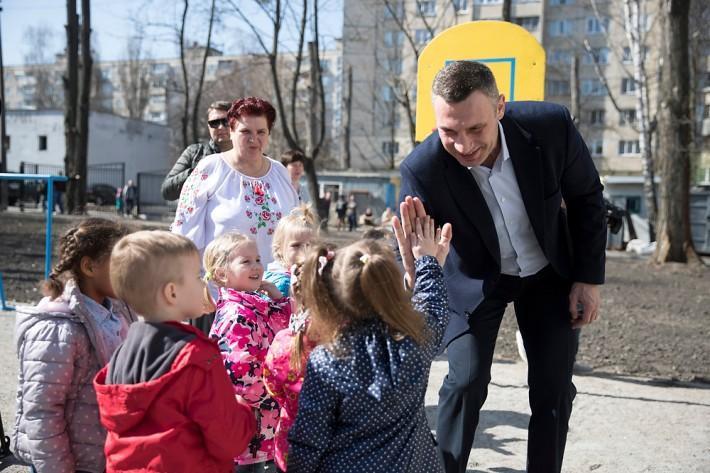 Віталій Кличко під час інспекції / Фото kiev.klichko.org