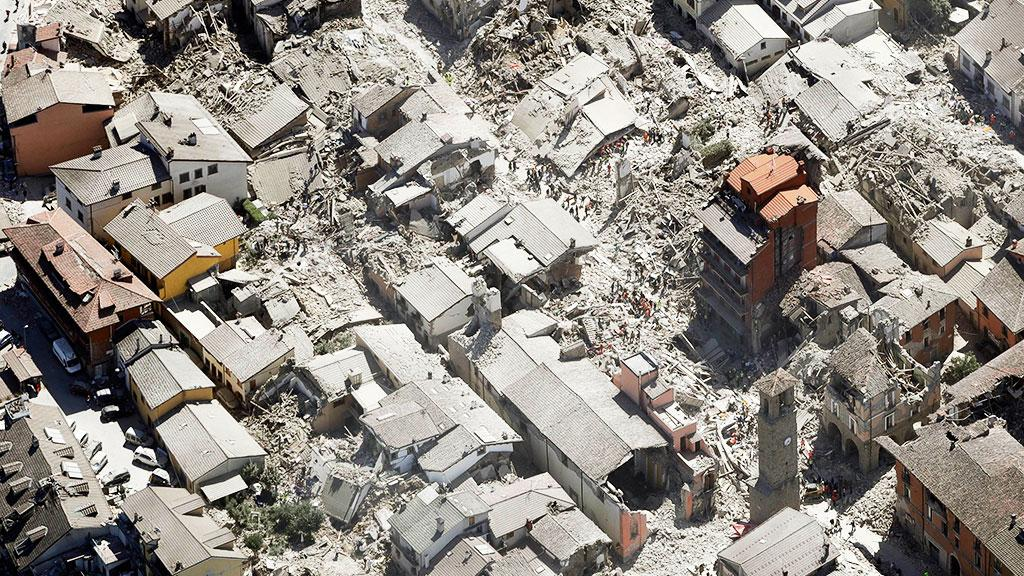 Землетрясение в Италии, иллюстративное фото / hvylya.net
