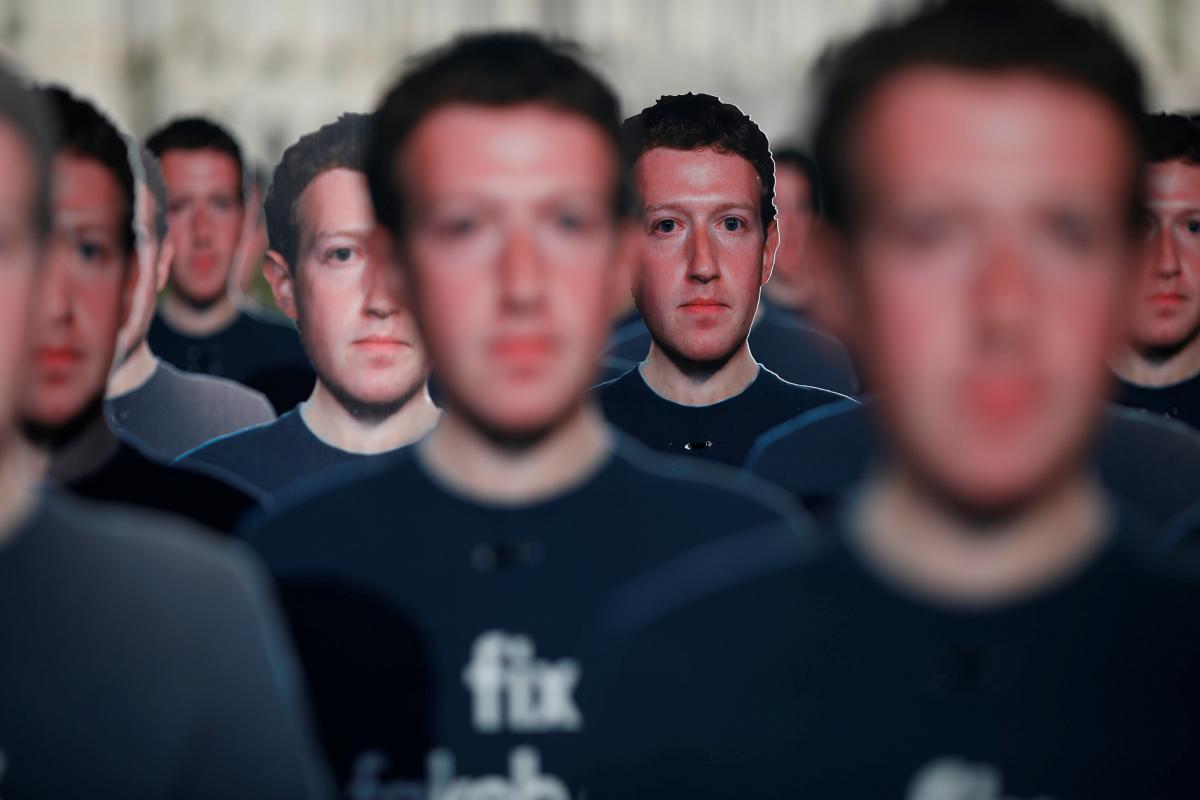 Рішення заблокувати акаунти президента Цукерберг пояснив можливими провокаціями з боку Трампа / фото REUTERS