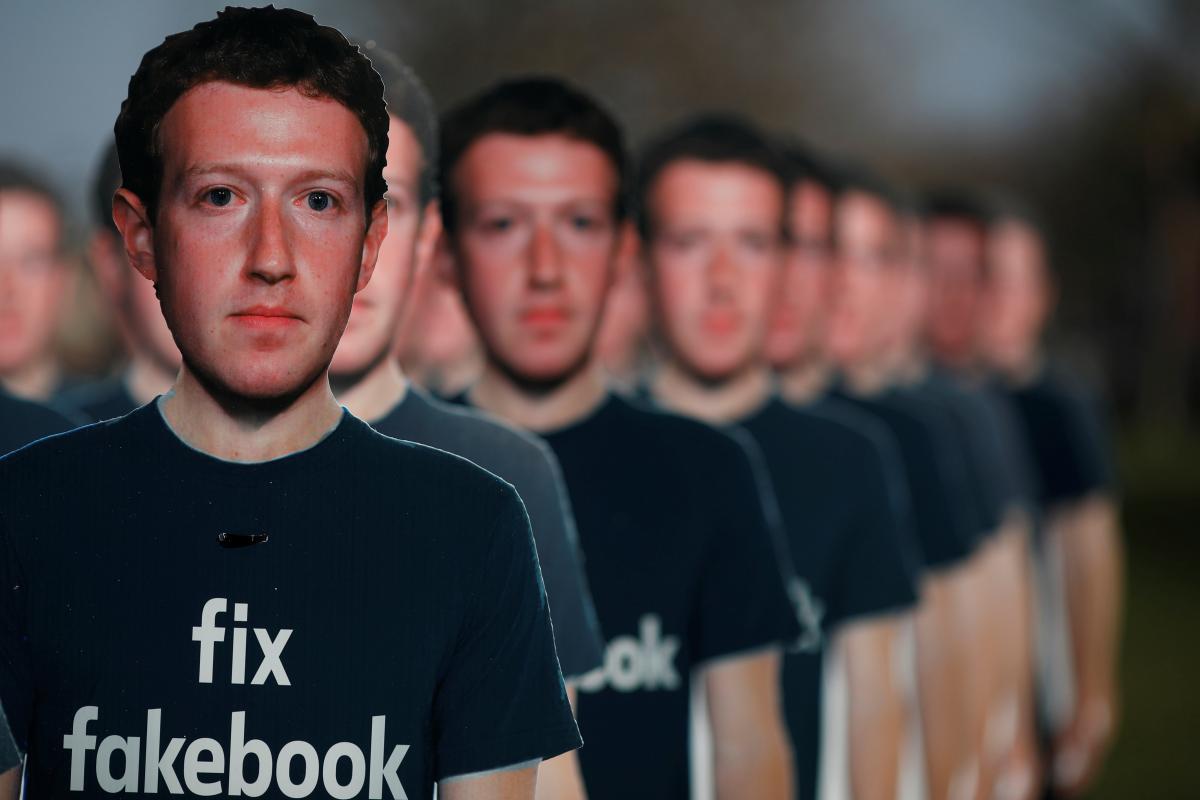 Украина попросила социальная сеть Facebook запретить страницы сновостями изДНР иЛНР
