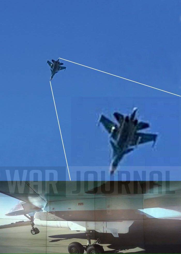 Су-34 в Латакии / фото warjournal