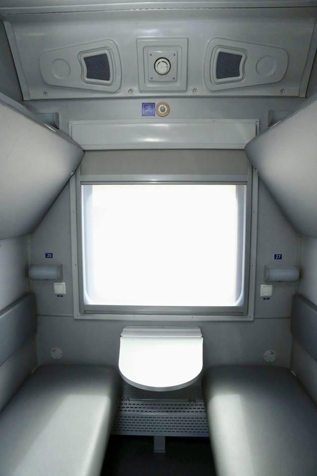 Новые вагоны уже курсируют в составе фирменных поездов первого и второго класс / фото facebook.com/Kravtsov.Evg