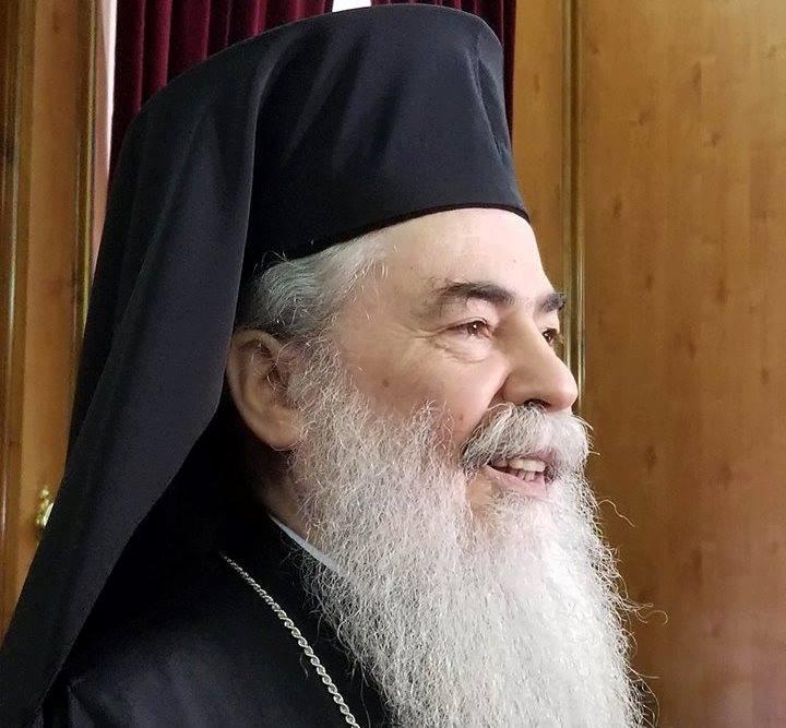 Иерусалимский Патриарх Феофил III / Центр информации УПЦ