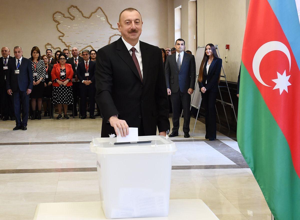Ильхам Алиев / REUTERS