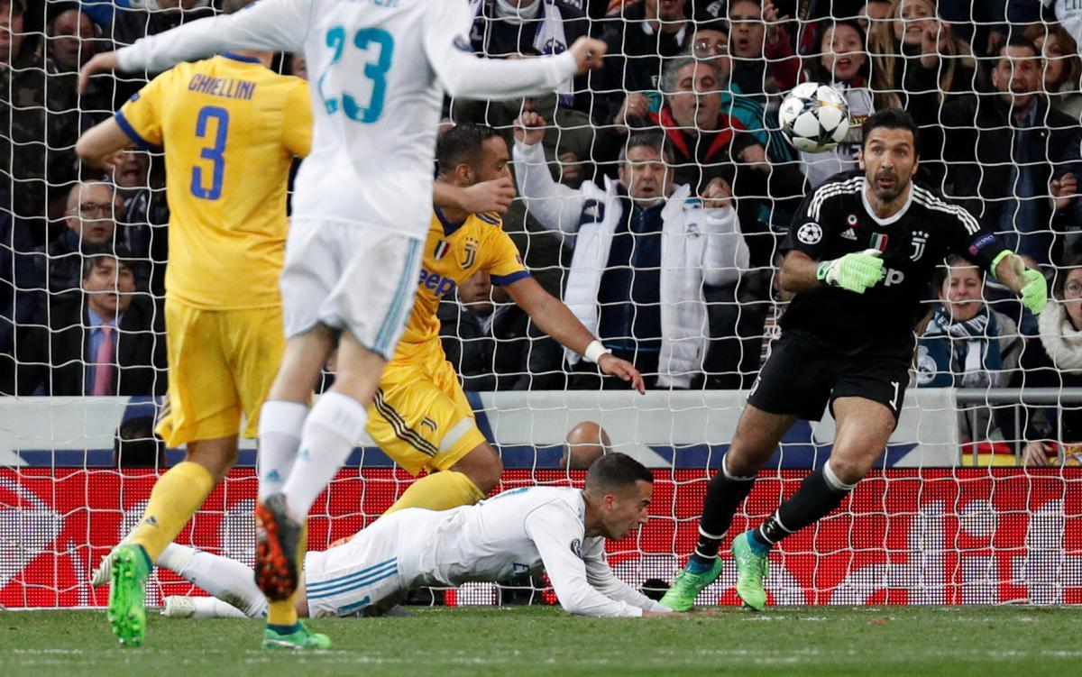 Роналду напоследних секундах выводит «Реал» вполуфинал Лиги чемпионов