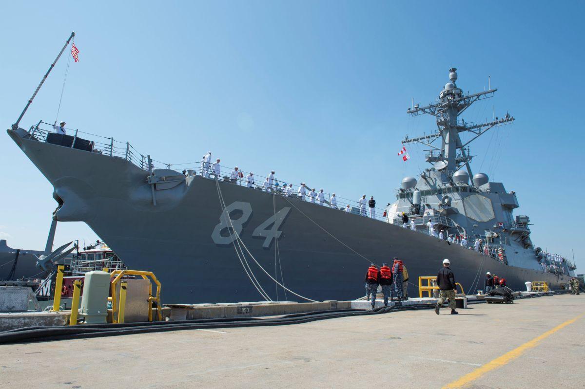 USS Bulkeley / REUTERS