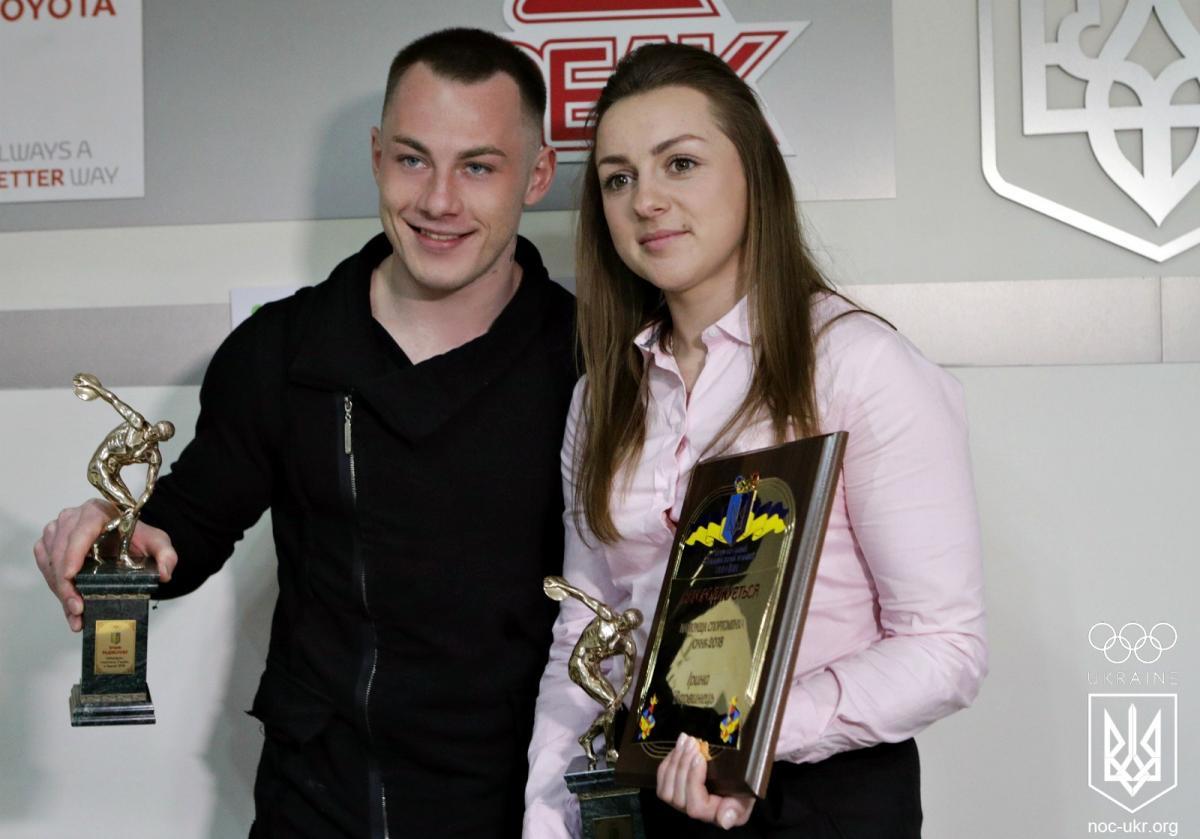 Варвинец и Радивилов получили заслуженные награды / noc-ukr.org