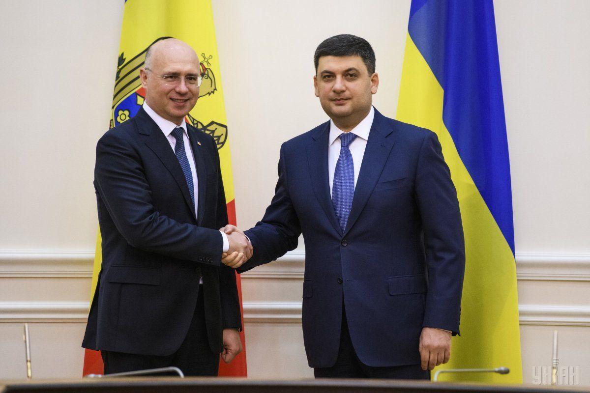 Договоренности были достигнуты во время встречи премьер-министров Украины и Молдовы / фото УНИАН