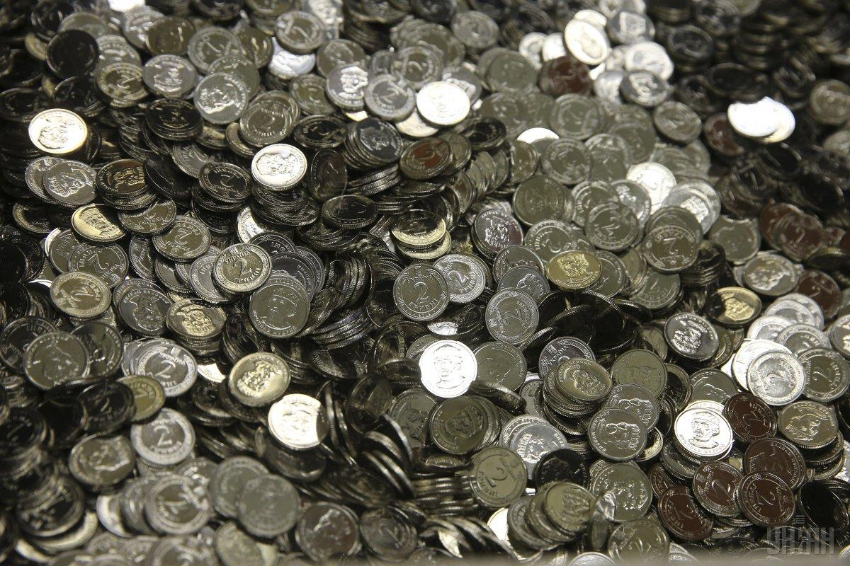 В 2018 году Нацбанк отчеканит 145 млн монет номиналом 2 грн / фото УНИАН