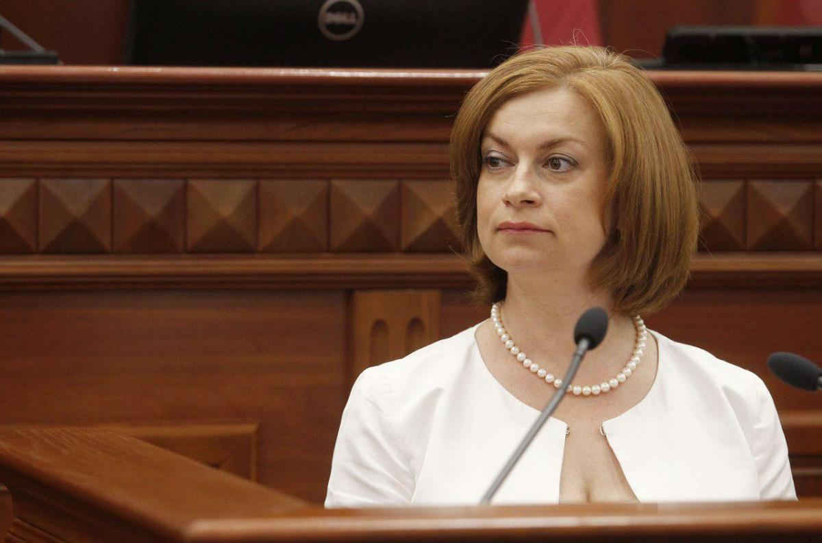 Старостенко отметила, что за год зарплата педагогов в Киеве выросла на 50% / фото КГГА