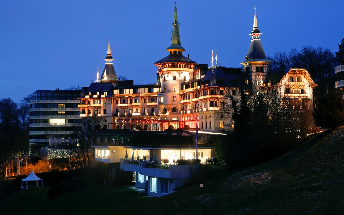 Сказочный Dolder Grand luxury hotel в Цюрихе (Швейцария) / Фото REUTERS