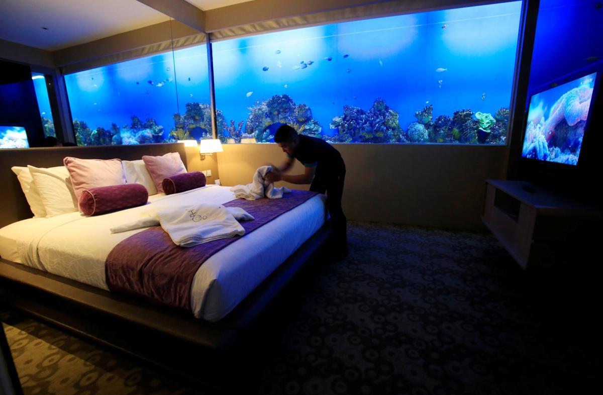 Тематический водный H2O hotel в Маниле (Филиппины) / Фото REUTERS