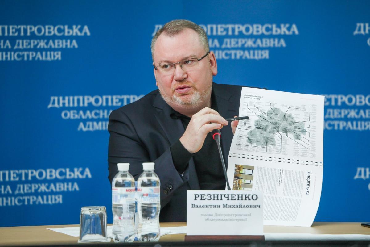 Резниченко сообщил, что началось строительство второй очереди объездной дороги вокруг Днепра