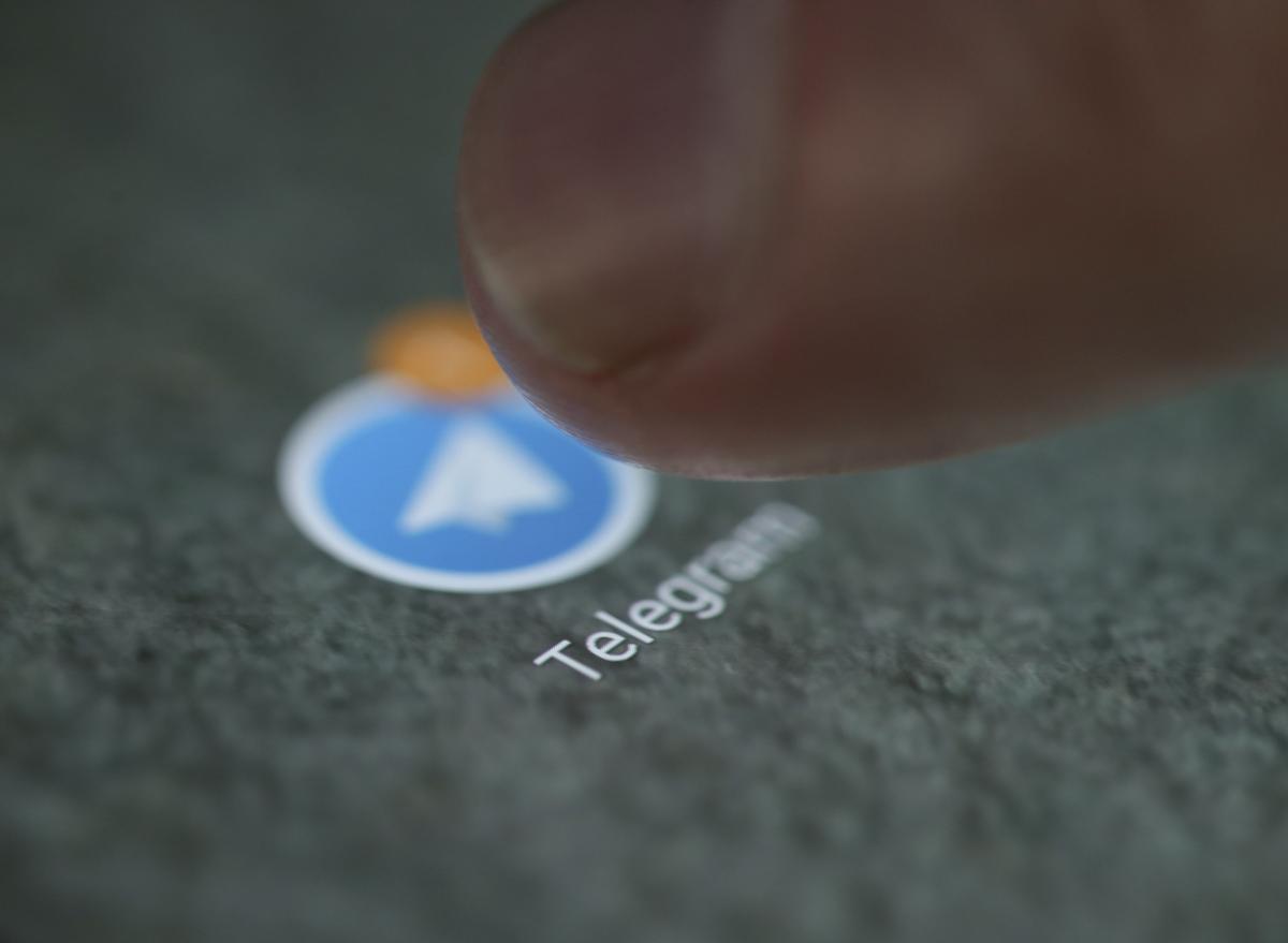 СБУ хочет заблокировать ряд Telegram-каналов / REUTERS