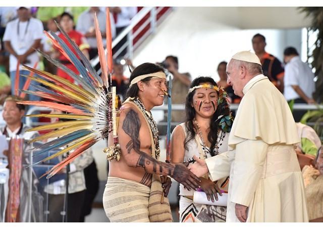 Папа возглавил открытие передсинодального заседание по вопросам Амазонии / ru.radiovaticana.va