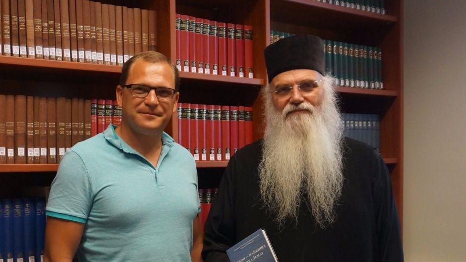 Митрополит Месогейский и Лавреотікійський Николай и Андрей Ус