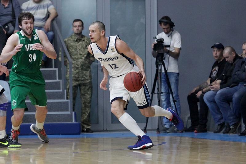 «Днепр» во 2-ой раз победил «Химик» вполуфинале плей-офф Суперлиги— Баскетбол