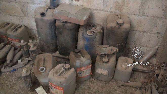 Армия Асада утверждает, что нашла химлабораторию повстанцев / фото sana.sy