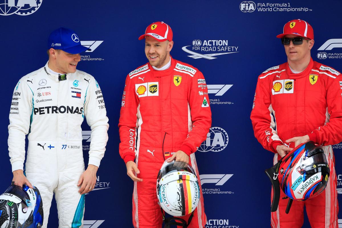 Себастьян Феттель виграв кваліфікацію Гран-прі Китаю / REUTERS