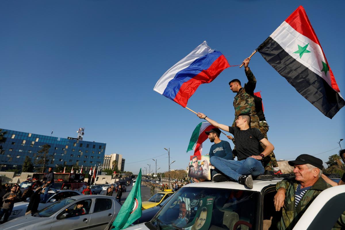 Сирия уже в руках России, поэтому остается лишь не допустить распространения войны / REUTERS