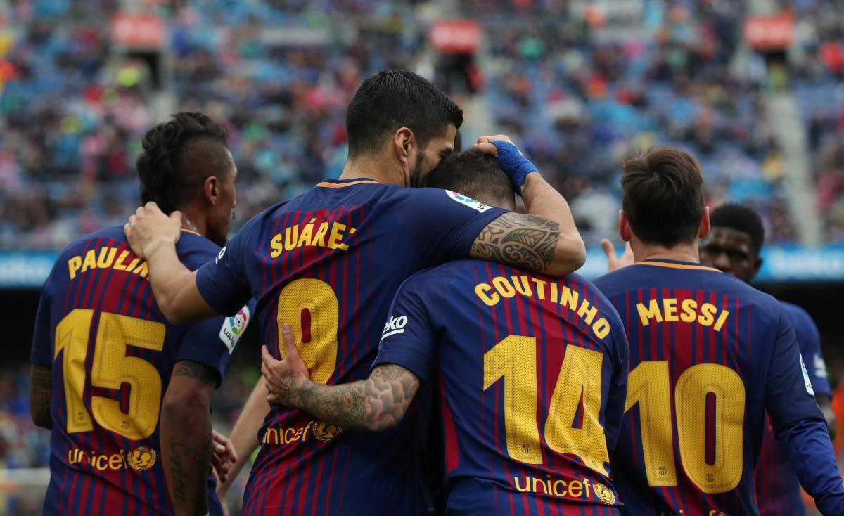 """Игроки """"Барселоны"""" могут провести в США два матча в нынешнем сезоне / REUTERS"""