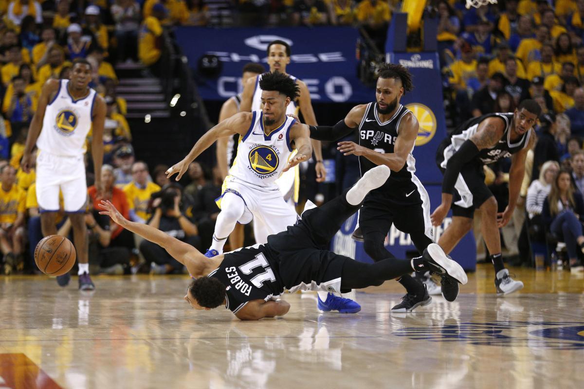 """""""Голден Стэйт"""" выиграл первый матч серии плей-офф НБА / Reuters"""