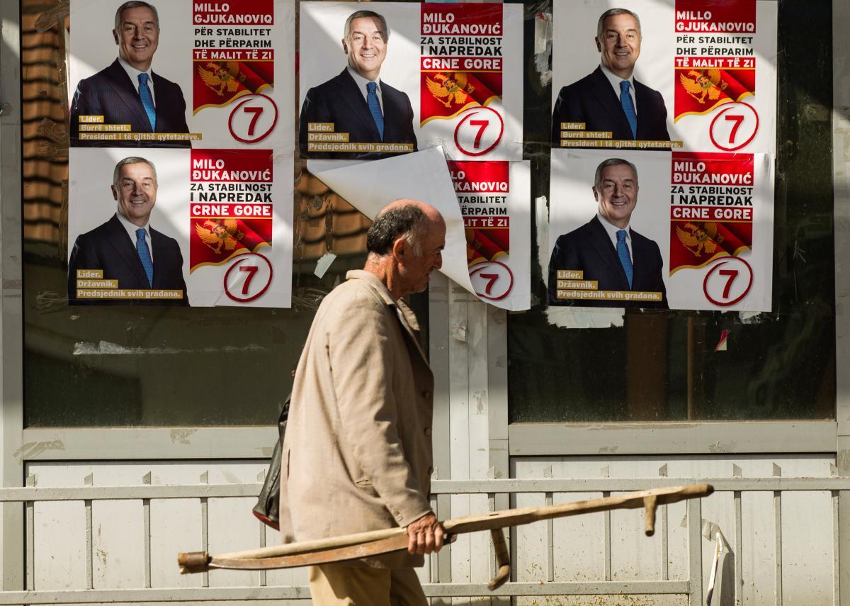 ВЧерногории стартовало голосование напрезидентских выборах