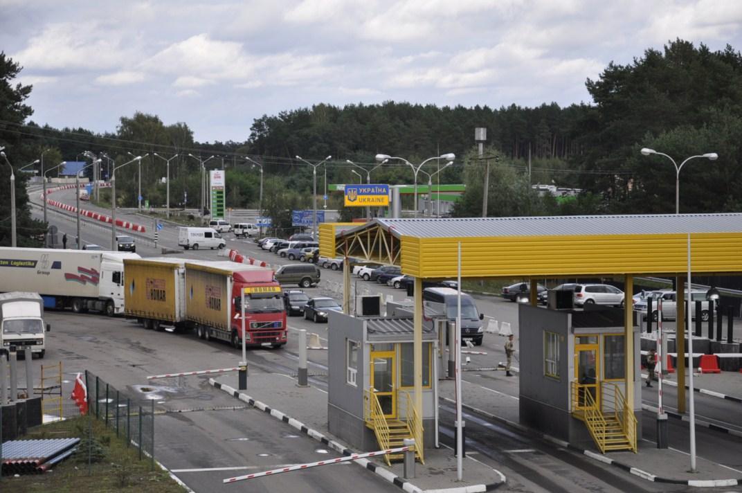 После праздников на границе, в частности со странами ЕС, наблюдается некоторое накопление автомобилей / Фото dpsu.gov.ua