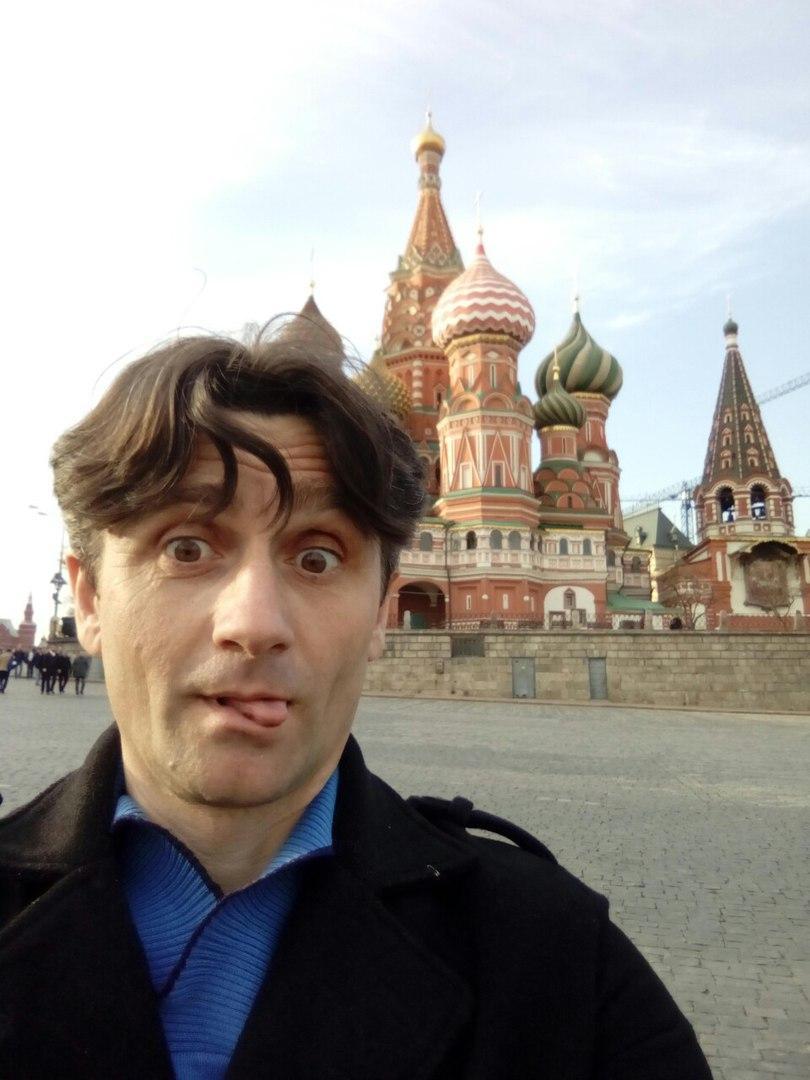 Берич побував у столиці РФ / фото vk.com