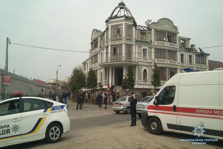 Сумнозвісний будинок знову потрапив у новини / Фото kyiv.npu.gov.ua