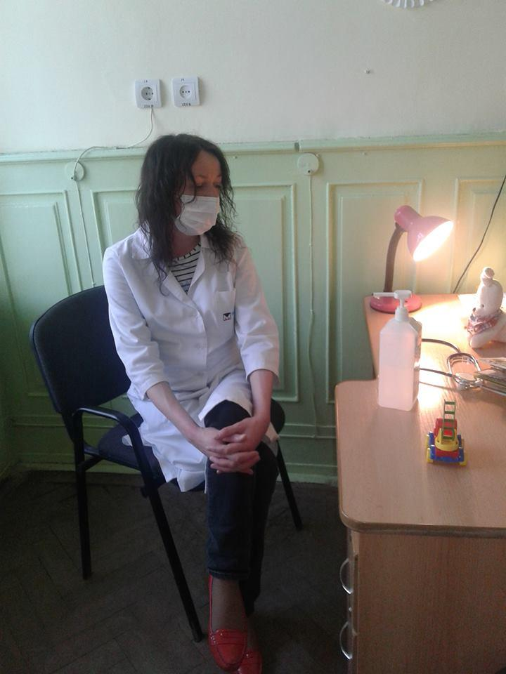 Во Львове пьяная врач принимала больных детей / фото forpost.lviv.ua