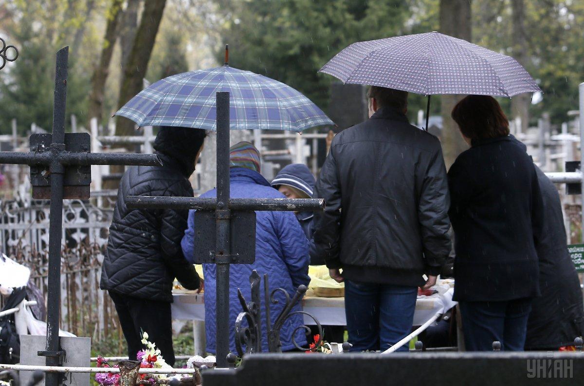 Кабмін хоче змінити правила поховання в Україні / фото УНІАН