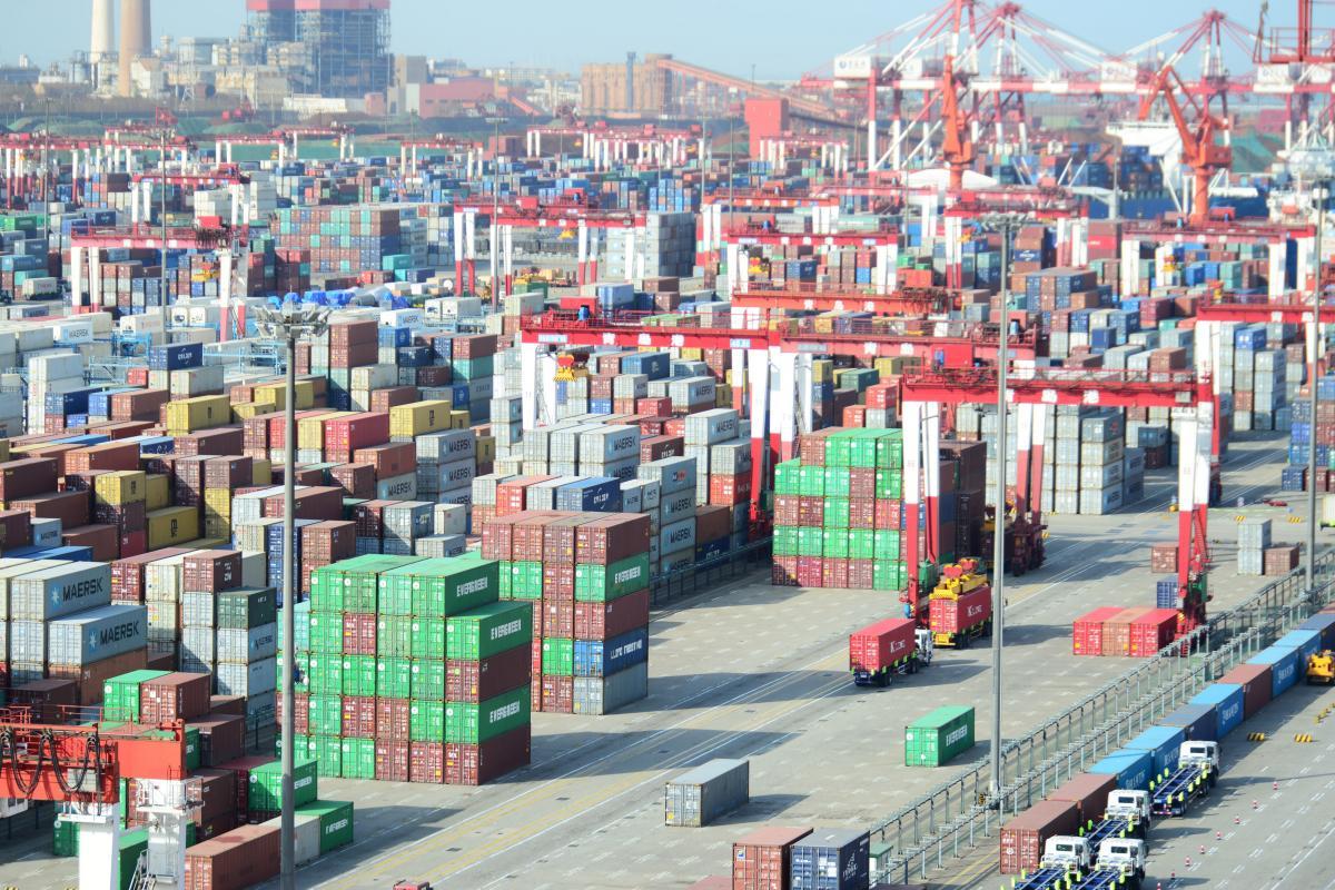 Крупнейшим торговым партнером Украины стал Китай / REUTERS
