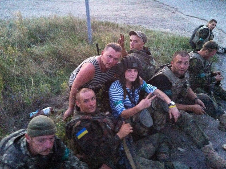 Толопа: Мені було соромно, що моя країна підло вкрала Крим / Фото facebook.com/valkirya24aydar