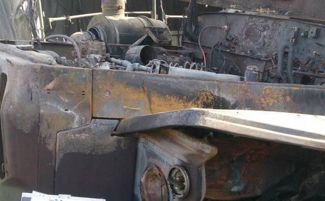 Террористы заявляли о поврежденную технику / фото сайт боевиков