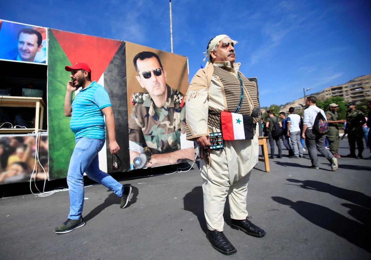 Выборы президента в Сирии состоялись 26 мая / Иллюстрация REUTERS