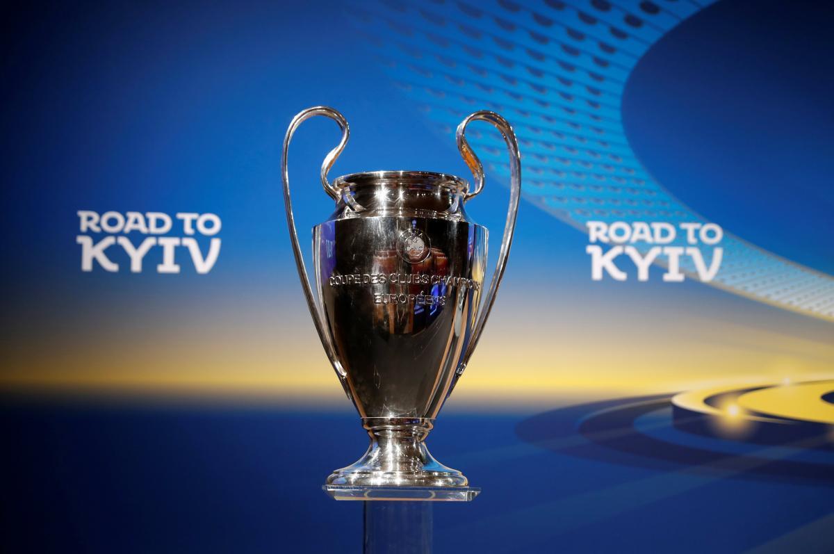 22апреля вМариуполе состоится демонстрация кубка Лиги чемпионов