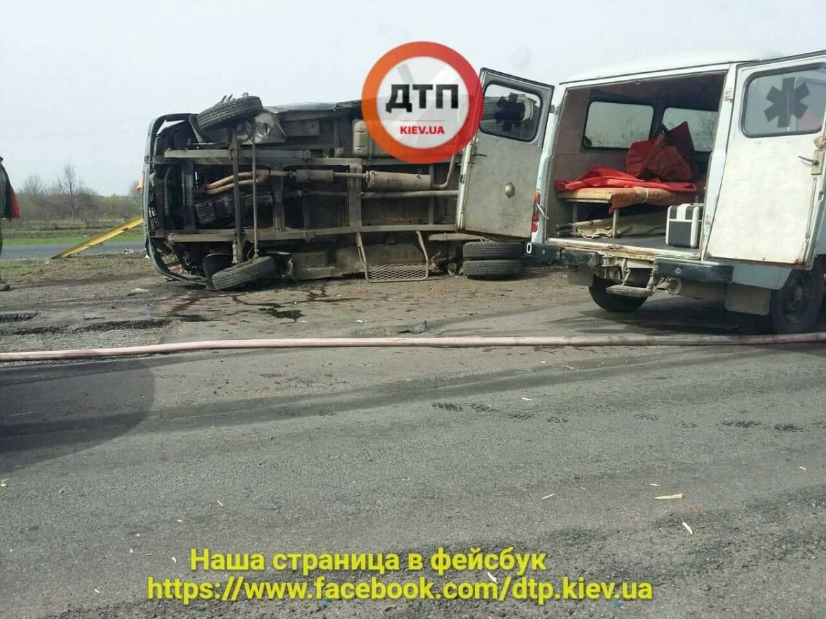 Под Черкассами произошло жуткое ДТП / Facebook, dtp.kiev.ua