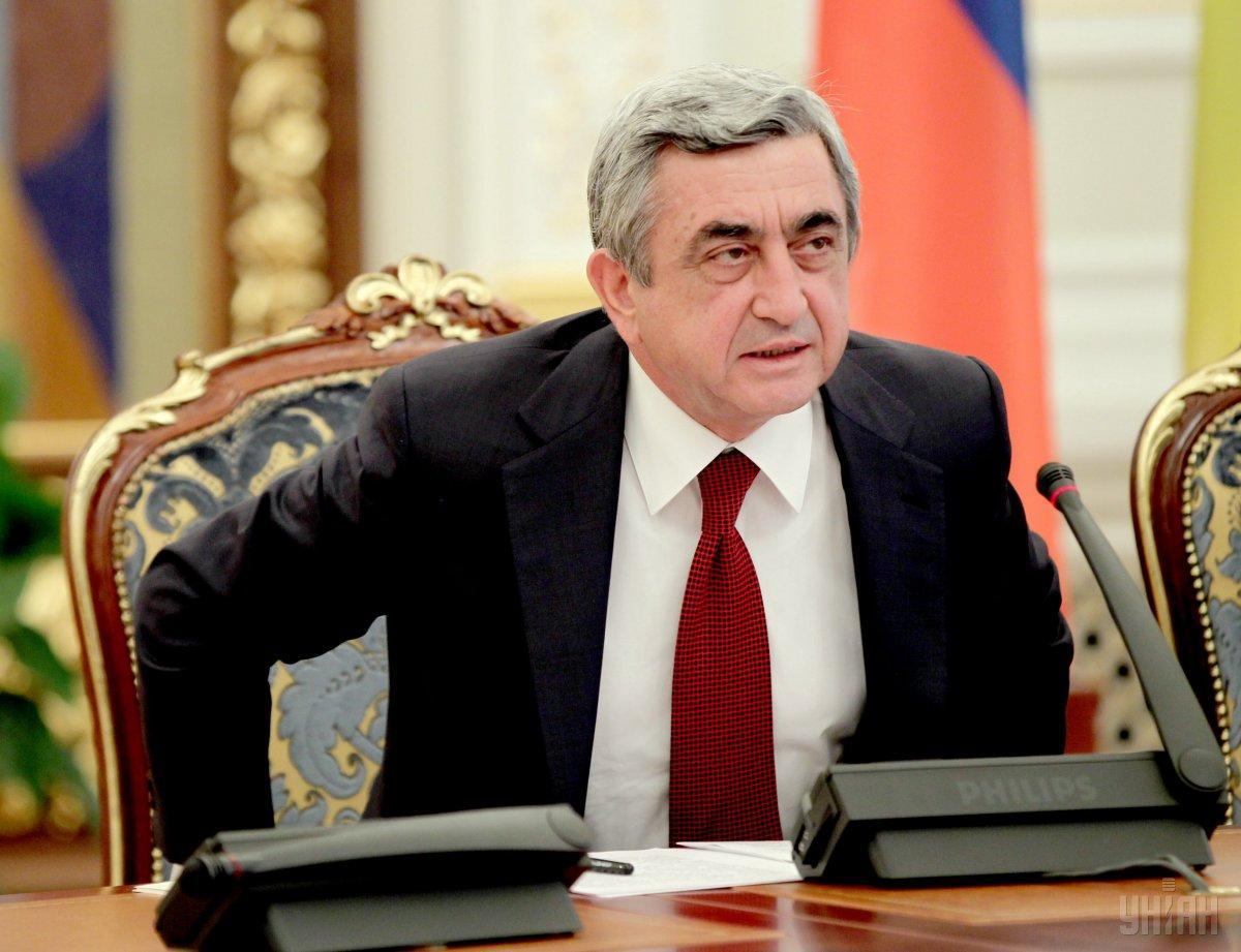 Саргсян выступил с заявлением / фото УНИАН