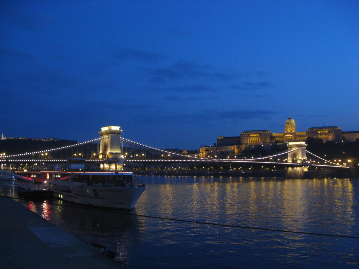 Ночной Будапешт / Фото Марина Григоренко