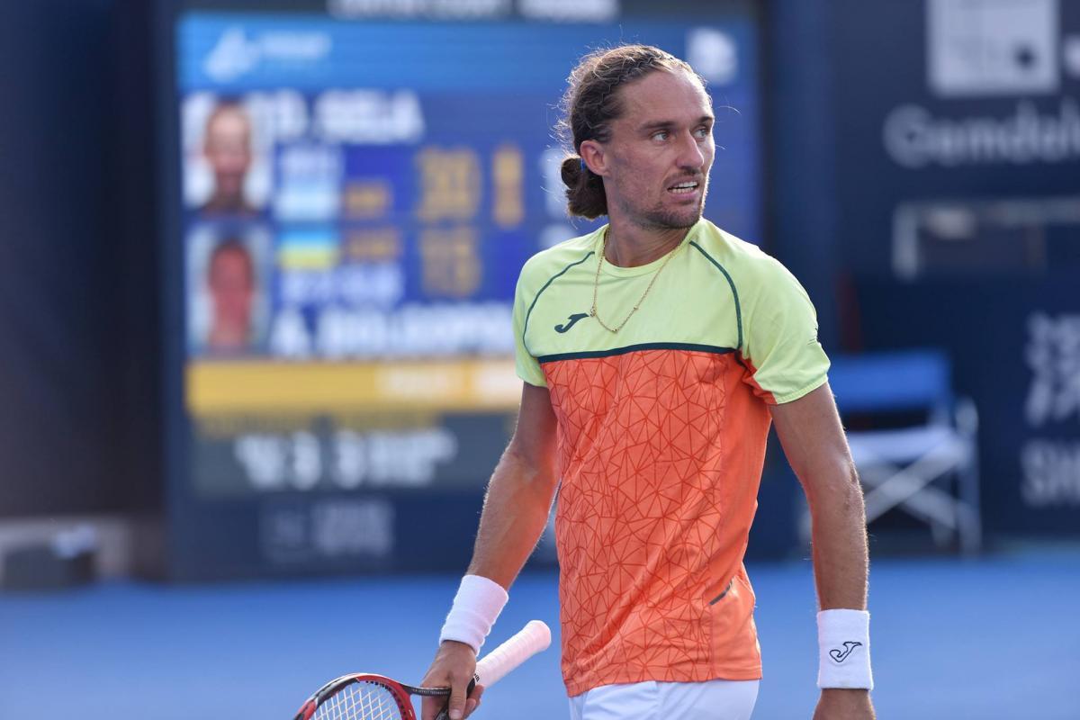 Александр Долгополов так и не смог вернуться на корт / фото Shenzhen Open